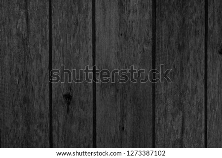 texture of black wood for background #1273387102