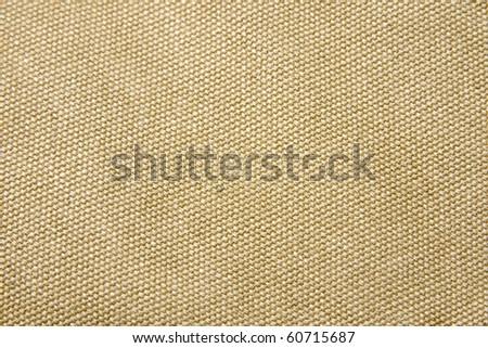 Texture of canvas taken as a macro - stock photo