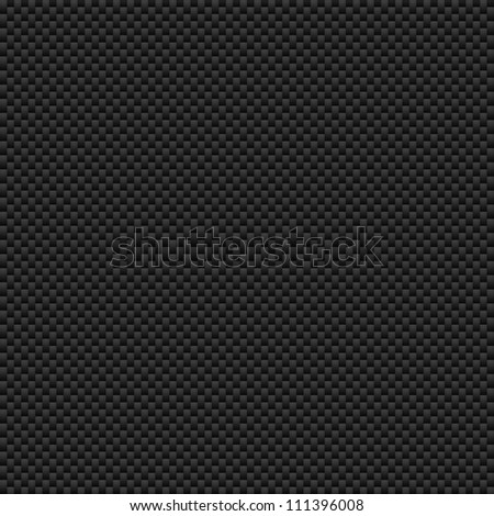 Texture of carbon fiber material. Dark background