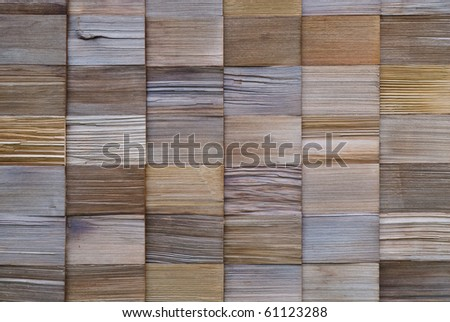 texture of cedar wood in panel