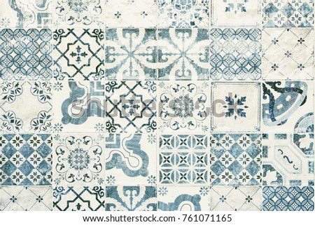 texture of ceramic tiles in...