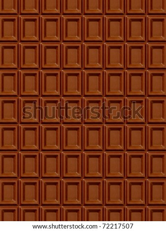 texture of chocolate bar