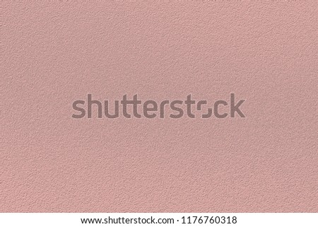 Texture of colored porous rubber. Fashionable color of autumn-winter 2018-2019 season: Mellow Rose Pantone. Can be used as a background or mock up #1176760318