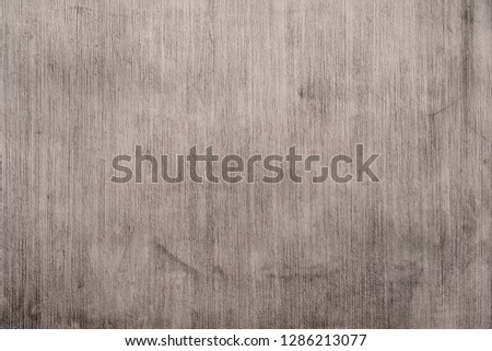 Texture of concrete wall. Surface grooved vertical pattern, Rough and dirty stained, Wallpaper background