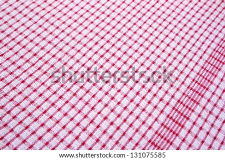 Texture of  cotton fabric as abstract background.