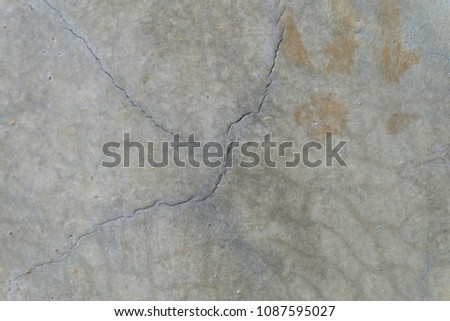 texture of crack cement wall - background,Abstract background #1087595027