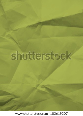 Texture of crumpled paper - colorful bitmap background