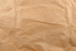Texture of crumpled wrapping paper.