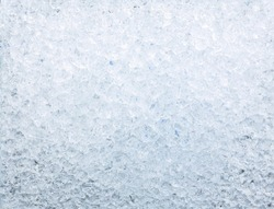 texture of crushed ice