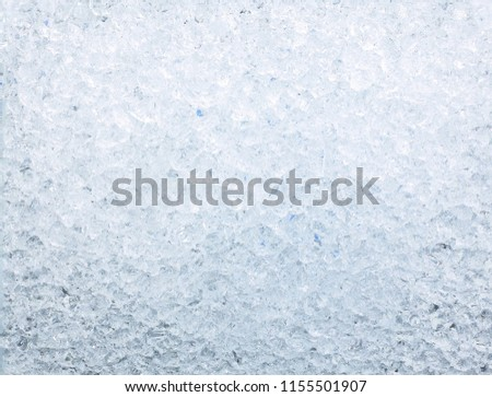 Photo of  texture of crushed ice