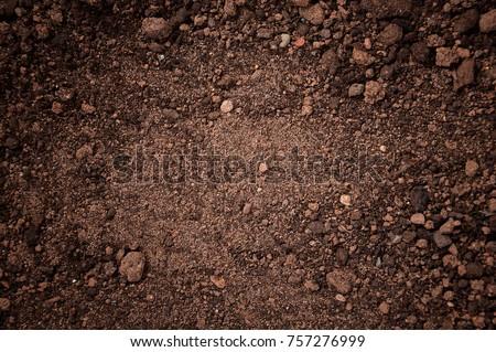 texture of dirt land