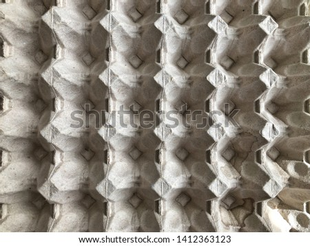 texture of egg cartons for background presentation