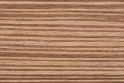 Texture of  Exotic Zebrano Wood veneer