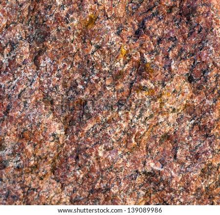 Texture of granite