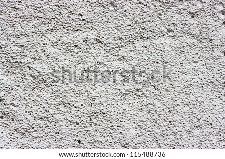 texture of gray concrete wall - stock photo