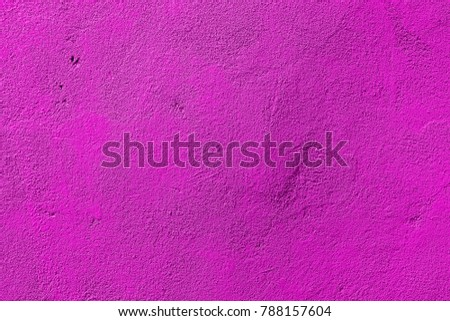 Texture of magenta plaster. Bright wall background. Brightly colored #788157604