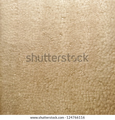 Texture of old distressed styrofoam. - stock photo
