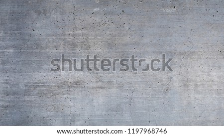 Texture of old gray concrete wall for background #1197968746
