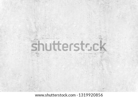 Texture of old gray concrete wall. vintage white background of natural cement or stone old texture material, for your product or background. #1319920856
