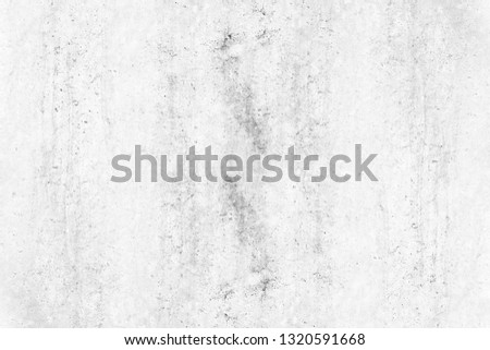 Texture of old gray concrete wall. vintage white background of natural cement or stone old texture material, for your product or background. #1320591668