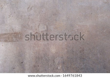 Texture of old scratched metal aluminum. Metal background.