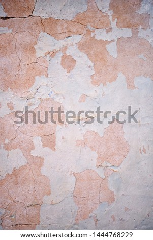 Texture of old stucco wall. Plaster stucco wall background #1444768229