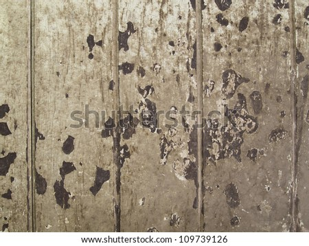 Texture of old weathered wooden material
