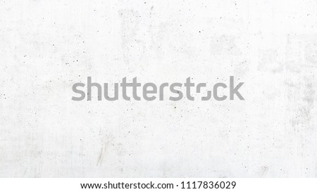 Texture of old white concrete wall for background #1117836029