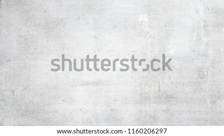 Texture of old white concrete wall for background #1160206297