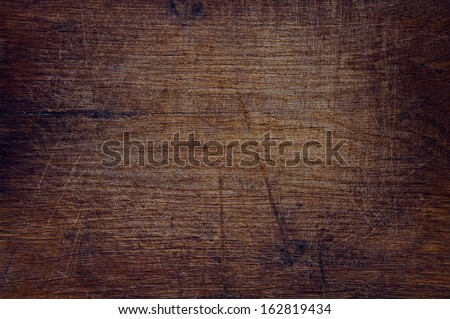 Texture of old wood dark nature background