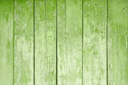 texture of old wooden boards covered in colors of the year 2017 GREENERY pantone