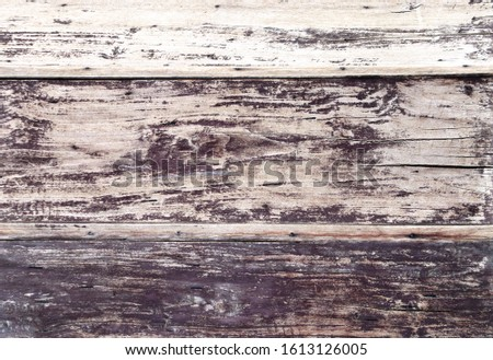 Texture of old wooden boards of light brown and dark brown color