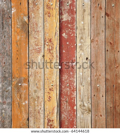 texture of old wooden planks for background
