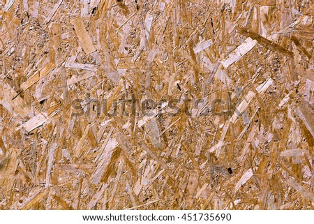 texture of oriented strand board, close up #451735690