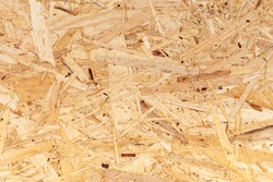 Texture of oriented strand board. Pattern of OSB
