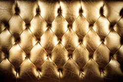 texture of padding, A gold texture of padding cushion.