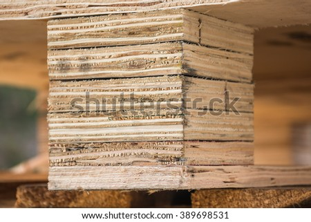 Texture Of Pallet Wood 389698531
