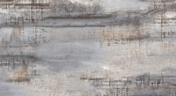 texture of polished cement with lake motif and bark