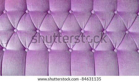 texture of purple fabric sofa for background