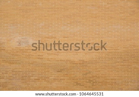 Texture of red brick wall #1064645531