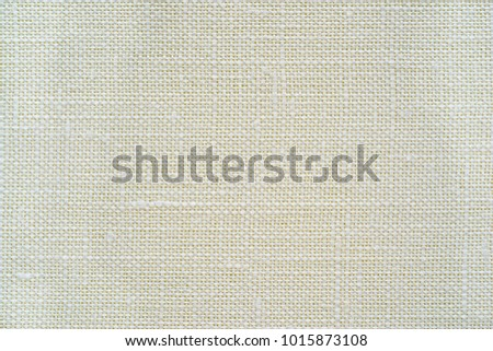 texture of rough fabric or textile material of white color for a background or for desktop wallpaper #1015873108