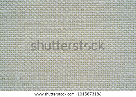 texture of rough fabric or textile material of white color for a background or for desktop wallpaper #1015873186