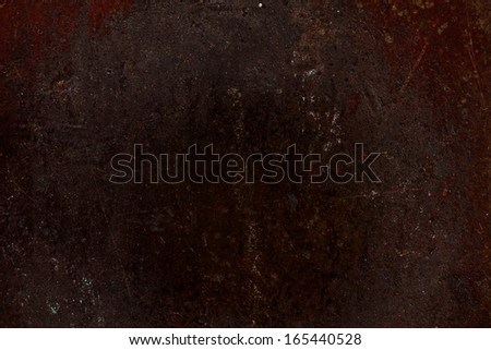 Texture of rough metal - cast old iron