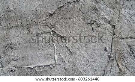Texture of rough surface of concrete wall