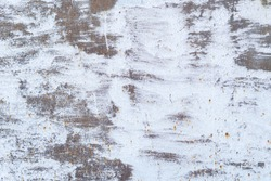 Texture of rusty with drip on steel wall background. Vintage color and vintage style.
