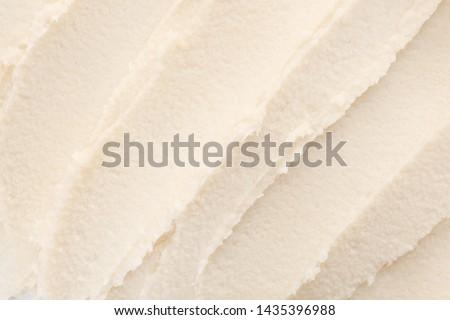 Texture of shea butter, closeup
