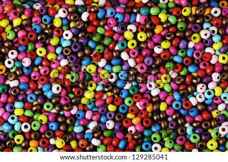 texture of small varicolored  beads ,suitable for backgrounds