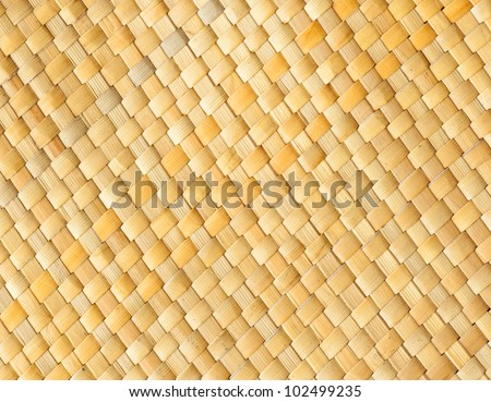 texture of thai native weave, thai art