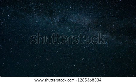texture of the cosmic sky