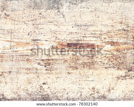 Texture of the old paint on wooden surface